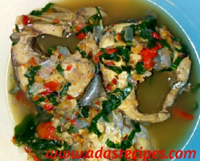 fresh fish pepper soup
