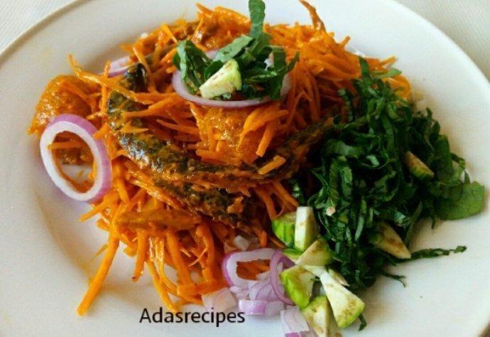Abacha recipe (African Salad)