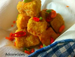 Yamarita fries recipe (coated yam)