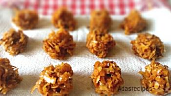 Nigerian coconut candy recipe