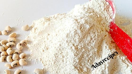 Homemade Beans flour
