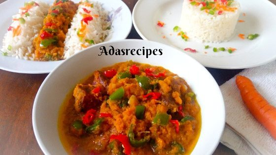 How To Cook Delicious Nigerian Carrot Stew Recipe