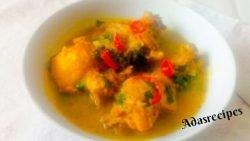 Chicken pepper soup recipe