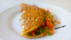 Vegetable Omellette