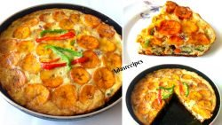 Egg and plantain Frittata