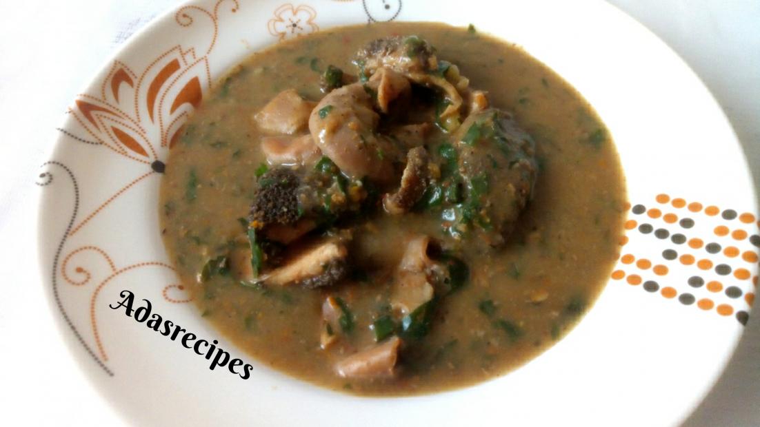 Ofe nsala recipe