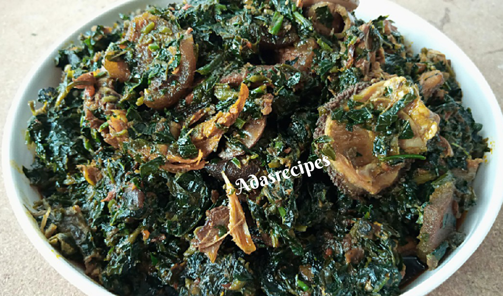 Nigerian party Vegetable soup